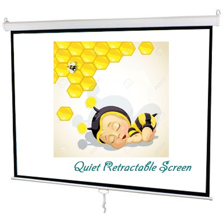 semi auto projector screen