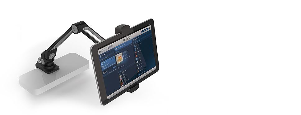 ipad visualiser stand clamp 5